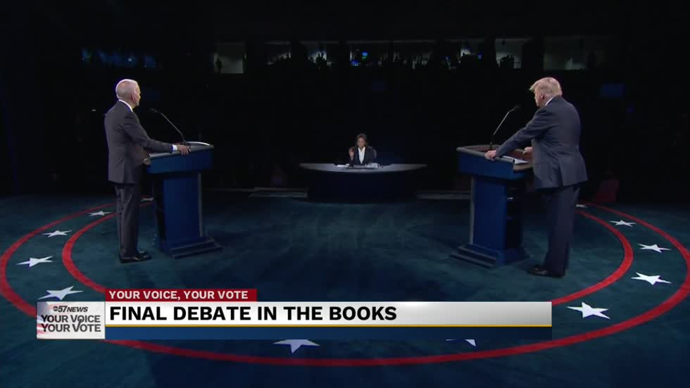 Local political expert weighs in on final presidential debate